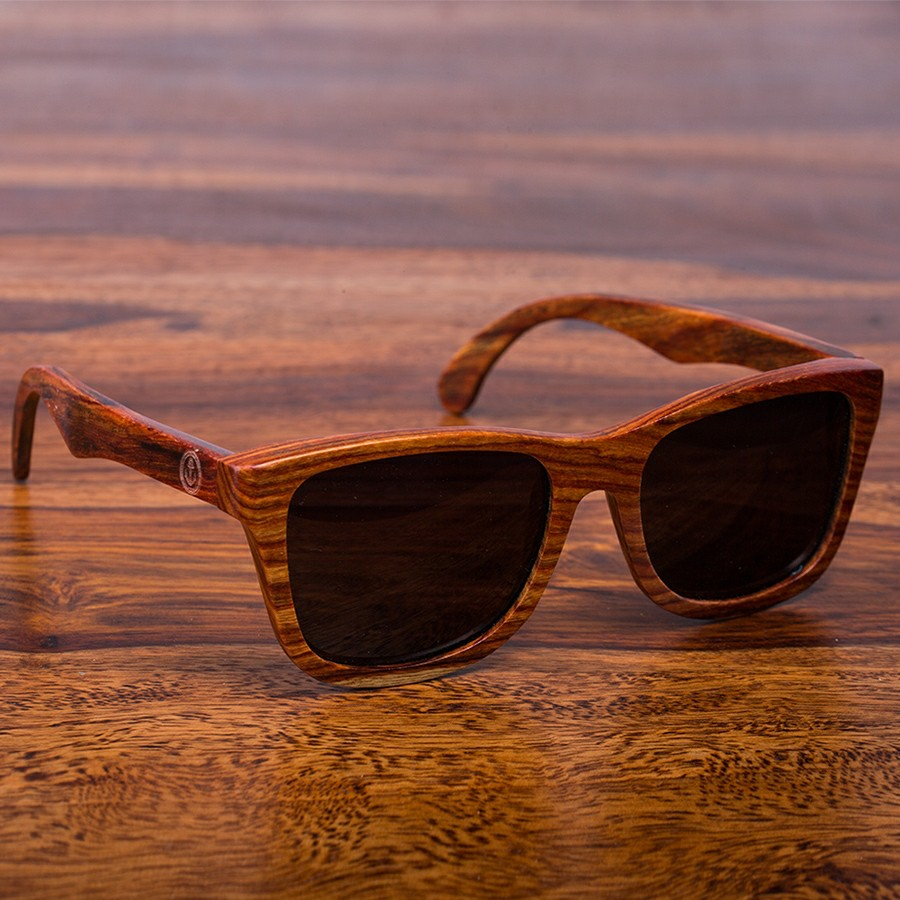 No.1 Red River Lifestyle Sonnenbrille aus Holz von Davy Jones